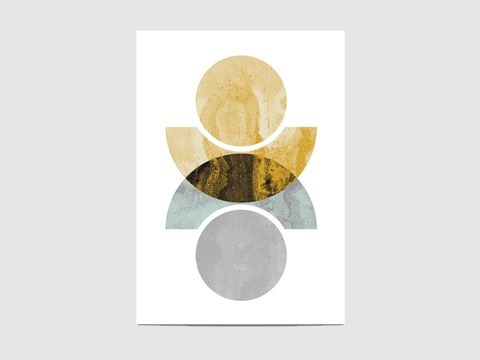 "Reflected circles - ""Reflected circles"" is part of the collection ""Abstract geometric"". It is an open edition print, not signed. If you would like my signature on your print, please tell me so."
